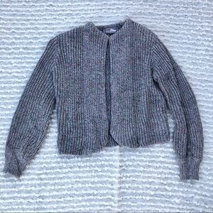 Vintage Casual Corner open front knitted cardigan